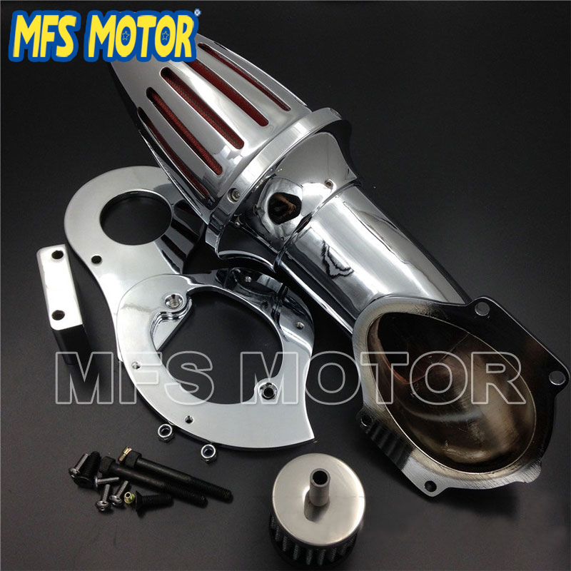 Motorcycle Accessories Air Cleaner Kits intake filter for Honda Shadow 600 VLX600 VLX 1999 2012 Chrome