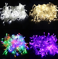 led string light 30M 300 LEDs AC110V / 220V colorful holiday led lighting waterproof outdoor decoration light christmas lights