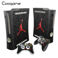 Pro Basketballs Stickers For Microsoft Xbox 360 Fat Conslole Skins For Xbox 360Fat Controller Basketball Decal