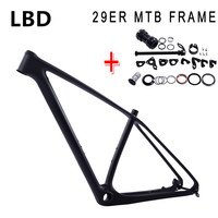 2017 bicycle 29er carbon frame MTB carbon frame 29er 27.5er carbon mountain bike frame 650B disc carbon mtb frame 29 free ship