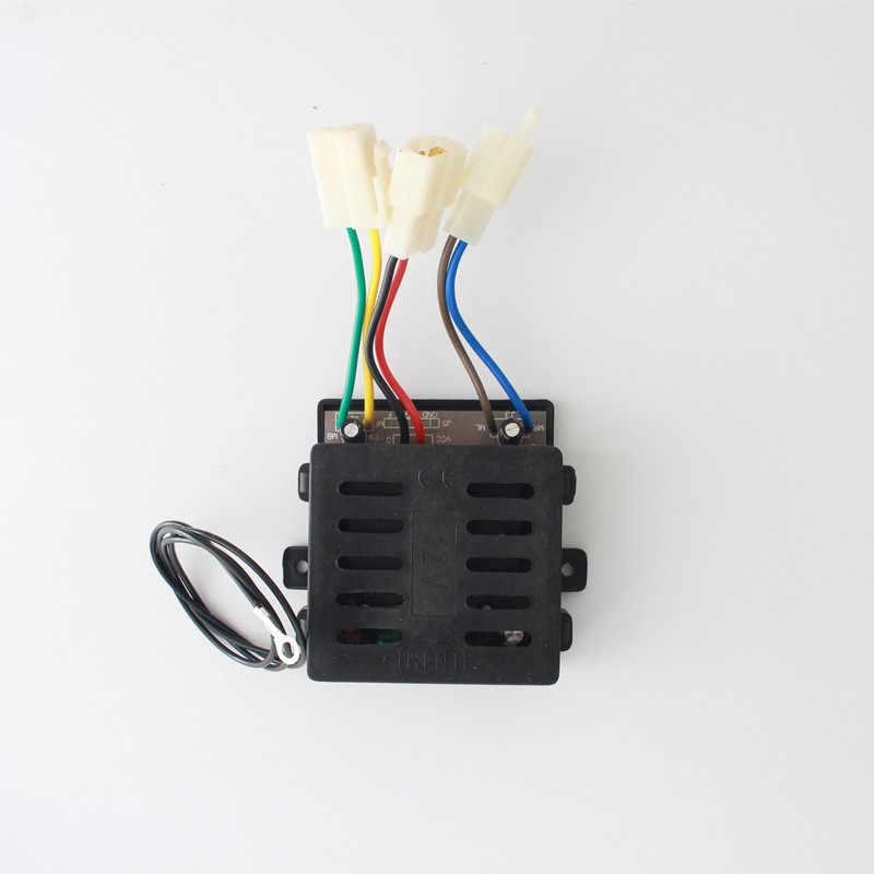 Carro Elétrico Infantil Controle Remoto Universal 27Mhz E 12V Kit Receptor Controle