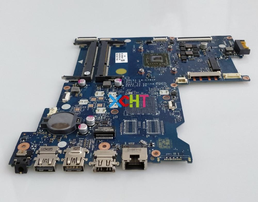 Image 5 - for HP Notebook 15 AF Series 15Z AF000 827705 501 ABL51 LA C781P REV:1.0 UMA A6 5200 Laptop Motherboard Mainboard Tested-in Laptop Motherboard from Computer & Office