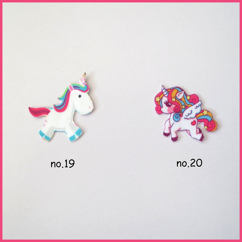 "100 Girl 1.75/"" Unicorn L.O.L Surprise Doll Rainbow Baby Cloth Patch Wholesale"