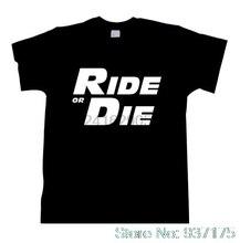 95fb622a6 FAST AND FURIOUS TEE Shirt Tshirt Ride or Die Paul Walker Vin Womens  Fashion T Shirt