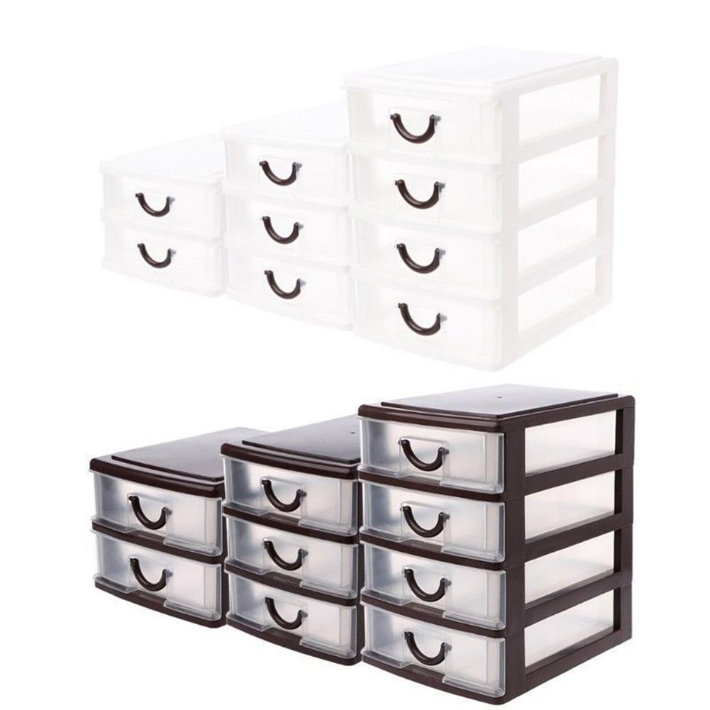 Adeeing Plastic Transparent Drawer Organizer Home Kitchen Board Divider Makeup Storage Boxes ...