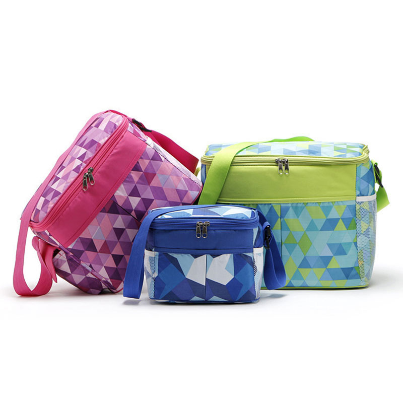 лучшая цена 21L 11L 5L Oxford Thermal PEVA Pearl Cotton Lunch Bags for Kids Food Picnic Cooler Bags Insulated Storage Fresh keeping Bags
