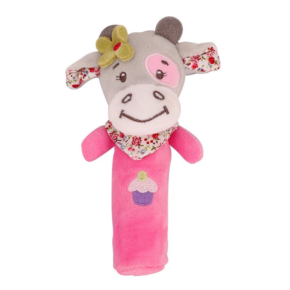 Детские погремушки Fulljion, развивающие игрушки для детей, Прорезыватель для зубов, Колокольчик для малышей, детская коляска, подвесные куклы - Цвет: bebe 5