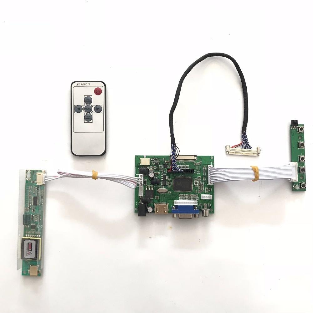 RTD2660 Universal HDMI VGA  AV LCD Controller Board for 18.5inch 1366x768 MT185GW01 2CCFL LVDS Monitor Raspberry PI