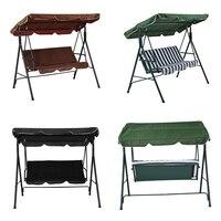 Panana Children Adult Garden 2/3 Seater Outdoor Patio Metal Swinging Chair Hammock Bench Canopy Kids Playing Swing