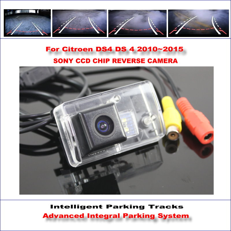 High Quality 3089 Chip Intelligentized Rear Camera For Citroen DS4 DS 4 2010~2015 / NTSC PAL RCA AUX HD SONY CCD 580 TV Lines