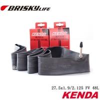 Free shipping Bicycle parts mountain bike inner tubes 27.5x1.9-2.125 presta valve 48mm