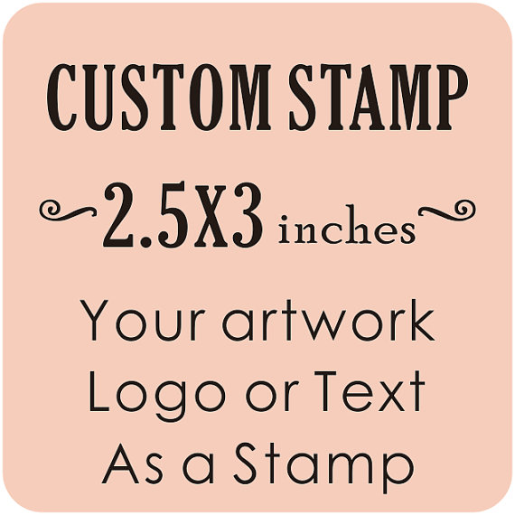 Custom Logo Stamp Business Card Return Address 2 5x3inches In Stamps From Home Garden On Aliexpress Alibaba Group