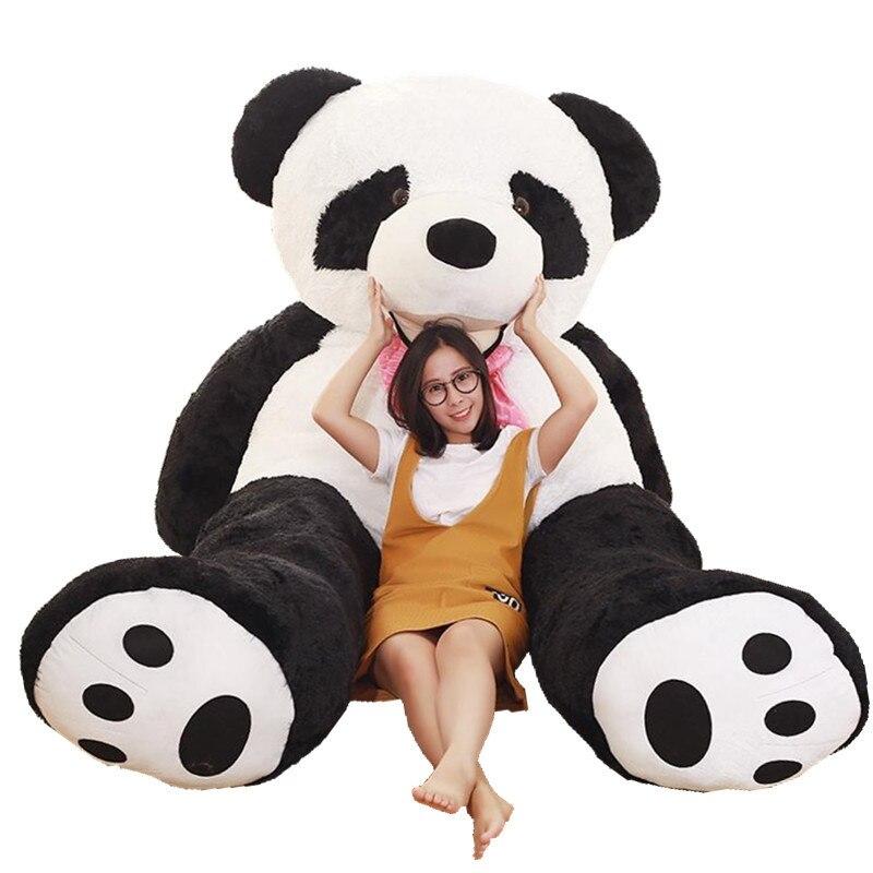 Большой размер, панда, плюшевые игрушки, чучело, панда, кукла, мягкая плюшевая подушка, детская игрушка, подарок на день Святого Валентина
