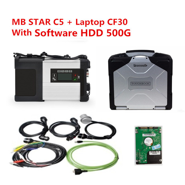 US $859 0 |2018 Latest DTS Monaco 8+Vediamo+Xentry+DAS+EPC Complete  engineer HDD and laptop cf30 for mercedes benz car diagnostic tools-in Car