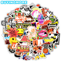700 PCS Mixed Random Graffiti Stickers Anime Funny Waterproof Decals Stickers to DIY Laptop Luggage Moto Car Skateboard Scooter