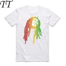 Camiseta De Bob Marley - Compra lotes baratos de Camiseta De Bob ... 9251ddbb78a1e
