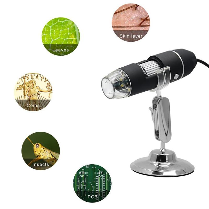 3 in 1 Wireless WiFi 1000X Digital 2MP HD 1080P Microscope USB 8 LED Digital Camera Microscope Magnifier Video Camera with Stand free shipping 1000x 2mp usb digital microscope with holder stand 8led digital microscope magnifier 1pcsvetus tweezers