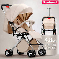 Baby stroller can sit reclining 4.8KG ultra light portable simple folding child baby pocket umbrella car child trolley