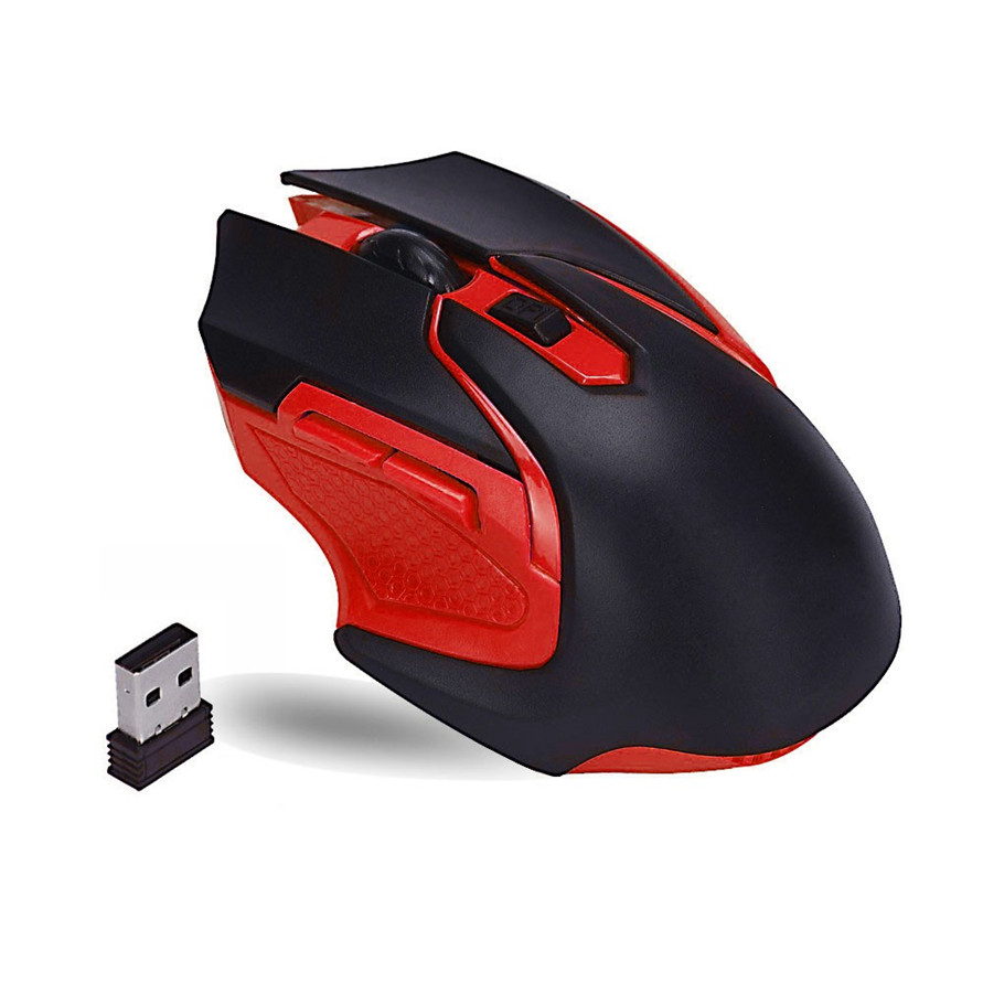 Brand Mouse Durable High Quality Wireless Mouse  2.4GHz Wireless Optical Gaming Mouse Mice For Computer PC Laptop