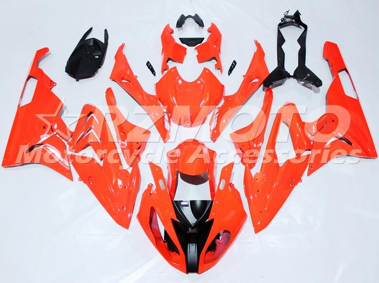 New ABS motorcycle Fairings Kit Fit For BMW S1000RR 2015 2016 S1000 2015 2016 Injection Mold Bodywork set Custom All Red image