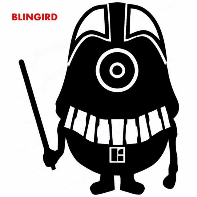 16 Cm 13 Cm Guru Blingird Robot Lucu Kartun Keren Decal Stiker