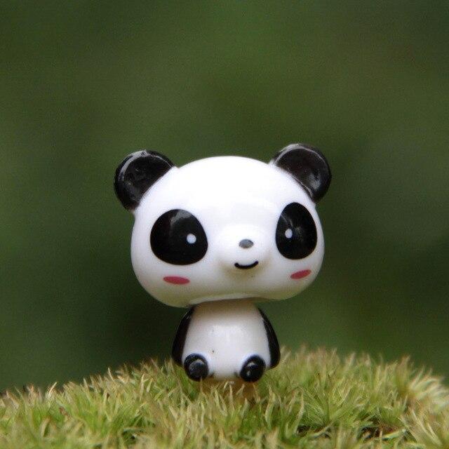 3 Cm Panda Shook Fine Edition Super National Treasure Microscopic Bonsai  Garden Decoration Ornament Action Figure
