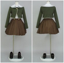Dangan Ronpa Cosplay Del Anime Chihiro Fujisaki uniforme mujeres cosplay Disfraces de halloween cosumes