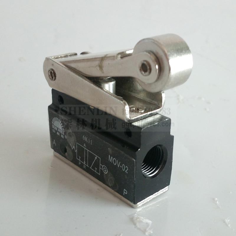 Air valve MOV-02 la Course pneumatiques contrôleur d'alimentation du commutateur de pneumatique mécaniques