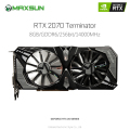 Orginal MAXSUN Nvidia GeForce RTX 2070 8GB Video Graphics Cards for Gaming GDDR6 256bit DirectX 12 8Pin HDMI DVI DP