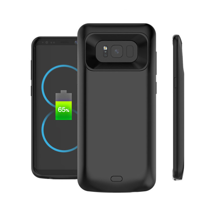 Power Bank For Samsung S8 Plus Back Battery Charger Case External Battery Charger For Samsung S7 edge/note 8 Battery Case