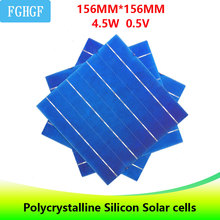 10 Pcs 4.5W A Grade 6×6 4BB high Efficiency Polycrystalline Silicon Solar Cell for home DIY 45W solar panel charger