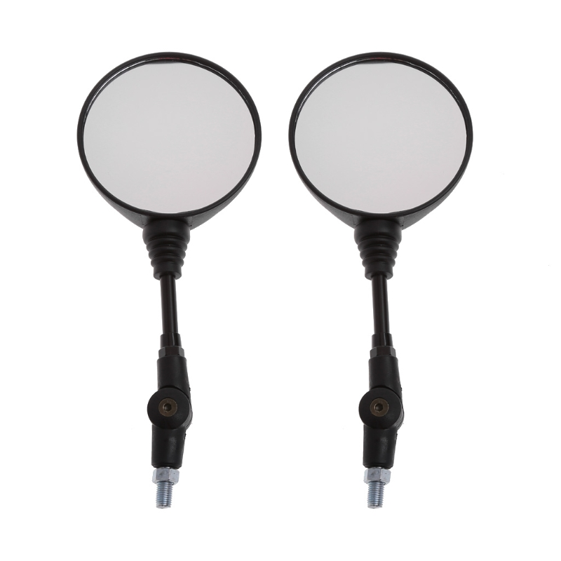 Free shipping Universal 1 Pair Folding Motorcycle Side Rearview Mirror 10mm For Yamaha Honda High Quality