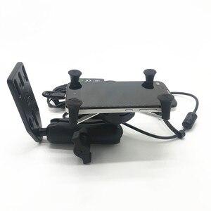 Image 4 - Per Suzuki Burgman 125 400 650 CIELO ONDA 650 AN400 Frame di Navigazione GPS di Navigazione Del Telefono Mobile Staffa di Accessori Moto