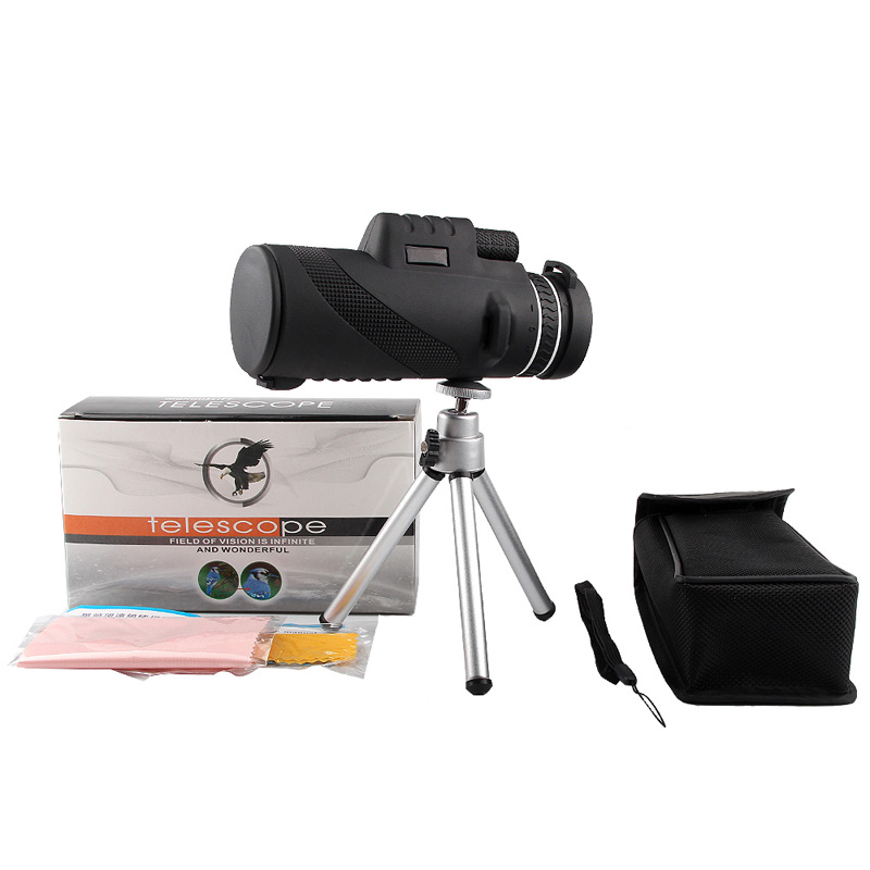 HD 40x60 Monocular High Definition Telescope for Mobilephone Low Light Night Vision RL38-0006-07