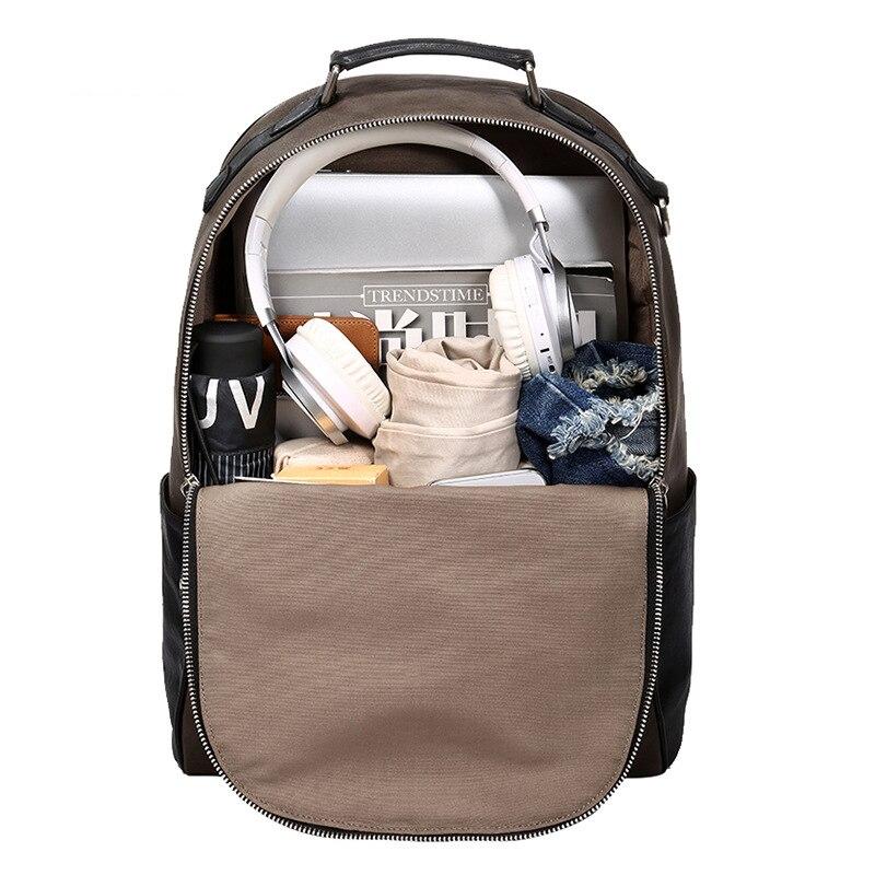 Nouveau sac à dos licorne sac à bandoulière en cuir pour hommes sac étudiant coréen sac à dos de loisirs - 4