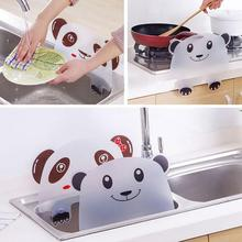 Cute Panda Sucker Water Splash Guard Baffle Wash Basin Sink Board Kitchen Tool Hot plasma th 42pa50c board baffle tnpa3242 tnpa3243