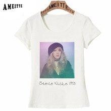 5f62ee41 New Summer T-Shirt Cute Women Short Sleev Fashion Trend Stevie Nicks Tusk  1973 Print