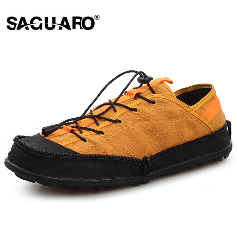 SAGUARO Casual Shoes Men Portable Wallet Shoes Folding Shoes Fashion Breathable Lovers Flat Canvas Shoes Zapatos Hombre Tenis e lov women casual walking shoes graffiti aries horoscope canvas shoe low top flat oxford shoes for couples lovers