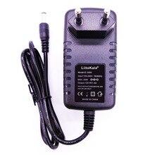 LiitoKala 12 V 1.5A adaptateur pour lii 260 lii 300, adaptateur 12 V 2A pour lii 400 lii 500, chargeur de batterie
