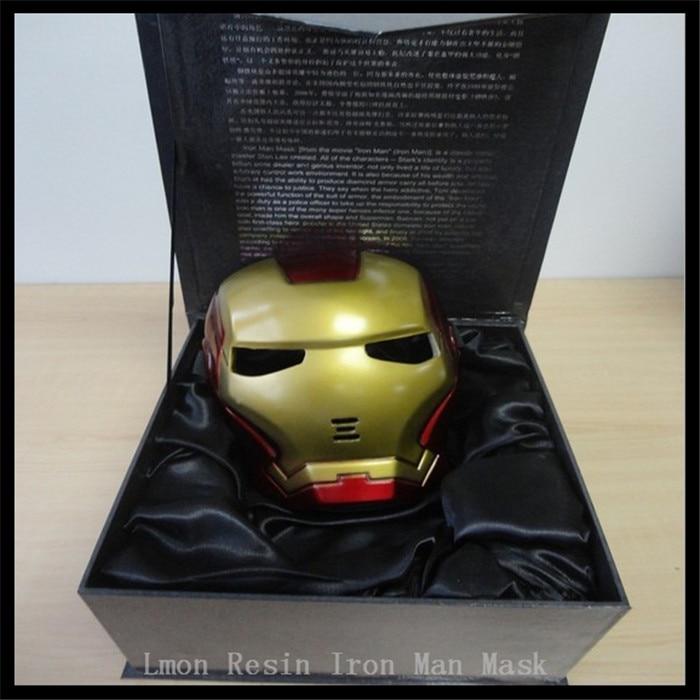 High quality iron man helmet the avengers halloween movie - Masque iron man adulte ...