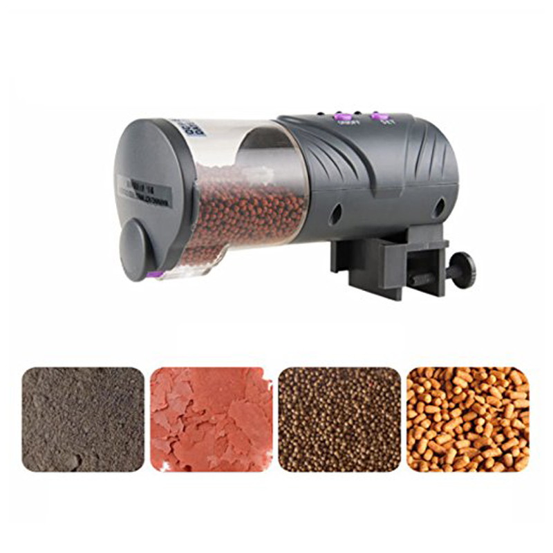 Automatic Fish Feeder Practical Food Dispenser Multi-functional Timer Feeders for Aquarium and Fish Tank