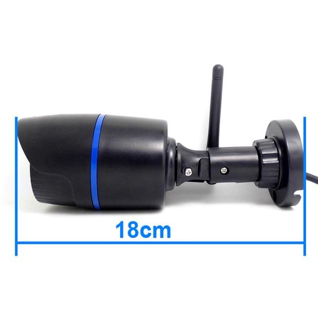2.0MP Ip Camera Wireless HD 1080P Outdoor waterproof Infrared Mini Cameras Wifi Network cam IR Cut Bullet CCTV Camera Onvif P2P