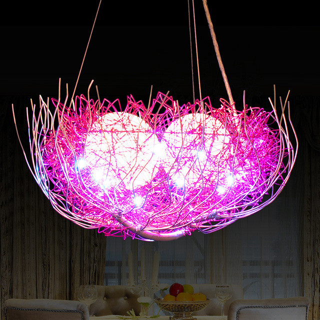 Aliexpress.com : Buy Pendant Lights Led bird\'s nest modern ...