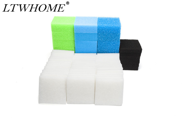Aliexpress com : Buy LTWHOME Value Pack of Fine, Carbon, Coarse, Nitrate  and Poly Filters Set Fit for Juwel Standard/ BioFlow 6 0/ L from Reliable