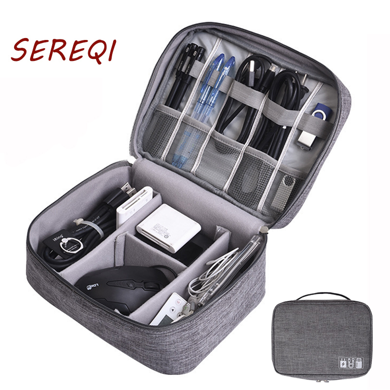 Bag-Kit Organizer Storage-Gadget Power-Bank Data-Cable Travel-Accessories Electronic