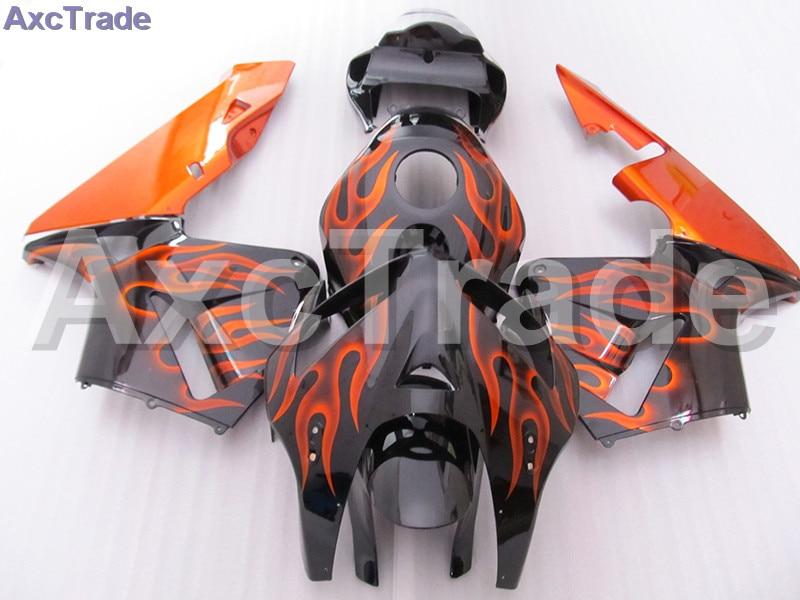 Orange Moto Fairing Kit For Honda CBR600RR CBR600 CBR 600 2005 2006 05 06 F5 Fairings Custom Made Motorcycle Injection Molding abs injection body fairings set for honda matte black cbr 600rr fairing cbr 600rr 2005 2006 cbr600rr 05 06 motorcycle bodykit