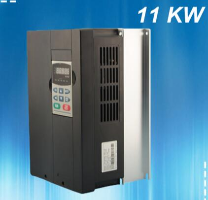 Single phase 220V input to 380V output 11KW general inverter / three-phase 380 asynchronous motor speed regulator baileigh wl 1840vs heavy duty variable speed wood turning lathe single phase 220v 0 to 3200 rpm inverter driven