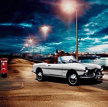 online shop 10x10ft dark blue clouds sky dock wharf sea sports car road lights custom background photography studio backdrops vinyl 3x3m aliexpress mobile