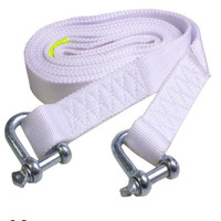 5 Meters Emergency Rescue Trailer Trailer Truck Rope Rope 5 Tons White Strong Trailer Belt