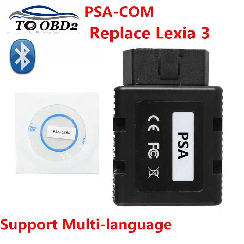 Newest PSACOM Replacement of Lexia 3 PP2000 BT For PSA COM PSA COM Diagnostic Program for